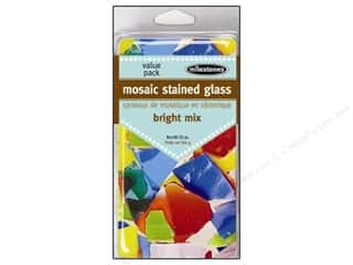 floral & garden: Milestones Mosaic Stained Glass Mix - Bright