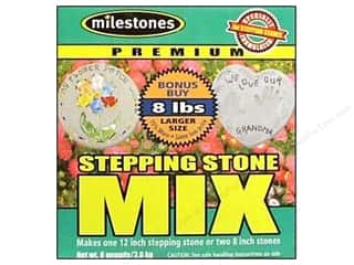 Milestones Premium Stepping Stone Mix 8 lb Box