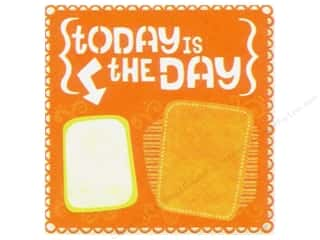die cuts: K&Company 12 x 12 in. Paper Citronella Die Cut Collection Today (12 sheets)