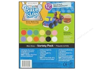 craft & hobbies: Sculpey Bake Shop Clay Variety Pack 12 pc.