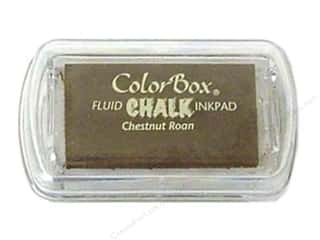 Clearance ColorBox Fluid Chalk Ink Pad Queues: ColorBox Fluid Chalk Ink Pad Mini Size Chestnut Roan