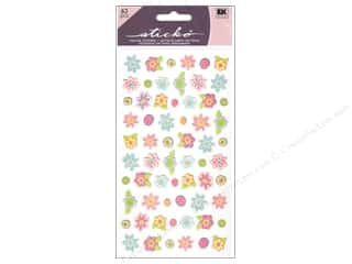 Theme Stickers / Collection Stickers: EK Sticko Stickers Teeny Tiny Flowers