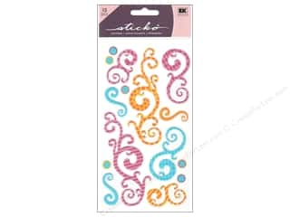 scrapbooking & paper crafts: EK Sticko Stickers Birthday Swirls