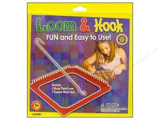yarn & needlework: Pepperell Weaving Looms Loom & Hook Set
