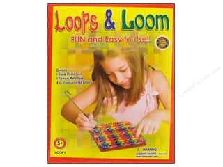 yarn & needlework: Pepperell Weaving Looms Loops & Loom Kit