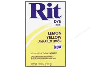 Rit Dye Powder 1 1/8 oz. Lemon Yellow