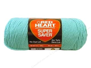 yarn & needlework: Red Heart Super Saver Yarn 364 yd. #0505 Aruba Sea