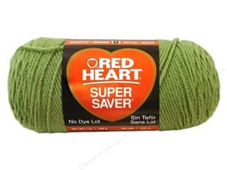 yarn & needlework: Red Heart Super Saver Yarn 364 yd. #0624 Tea Leaf