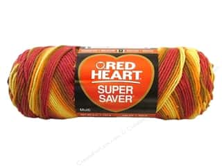 Red Heart Super Saver Yarn #0947 Marrakesh 244 yd.