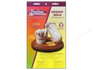gifts & giftwrap: Precious Impressions Memory Mold Infant Keepsake Kit