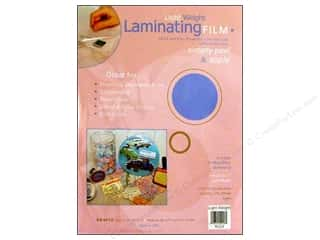 glues, adhesives & tapes: Grafix Laminating Film 9 in. x 12 in. Light Weight Package 4 pc