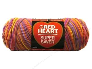 Red Heart Super Saver Yarn 236 yd. #0942 Melonberry