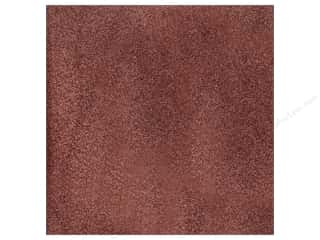 American Crafts 12 x 12 in. Cardstock Glitter Chestnut