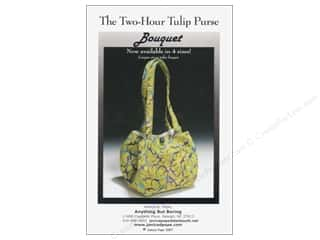 Anything But Boring: Anything But Boring The Two Hour Tulip Purse Pattern