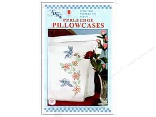 yarn & needlework: Jack Dempsey Perle Edge Pillowcase - Birds