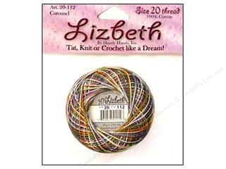 yarn & needlework: Lizbeth Thread Size 20  #112 Carousel