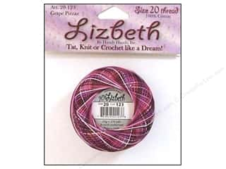 yarn & needlework: Lizbeth Thread Size 20  #123 Grape Pizzazz