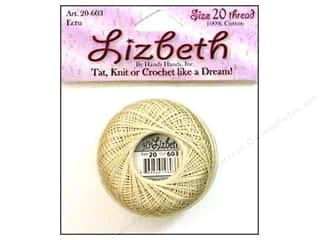 yarn & needlework: Lizbeth Thread Size 20  #603 Ecru