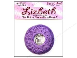 Lizbeth Thread Size 20  #632 Purple Medium