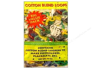 novelties: Wool Novelty Weaving Loops 10 oz. Assorted