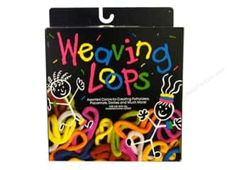 craft & hobbies: Wool Novelty Weaving Loops Refill 4 oz. Assorted
