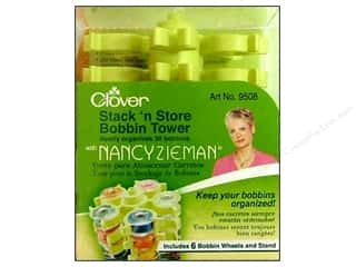 Clover Stack N Store Bobbin Tower with Nancy Zieman