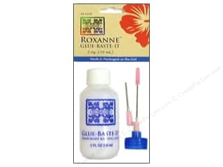Glues/Adhesives: Roxanne Glue-Baste-It Temporary Basting Glue 2 oz.