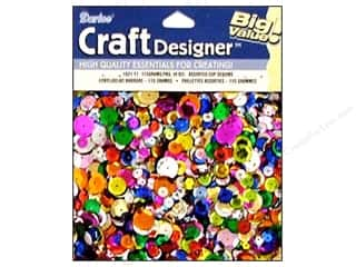 craft & hobbies: Darice Cup Sequins 4 oz. Assorted