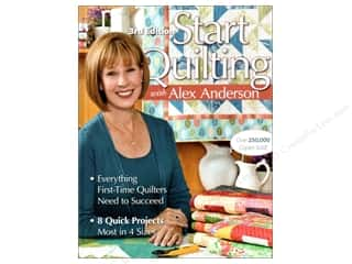 books & patterns: C&T Publishing Start Quilting With Alex Anderson Book