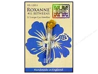 Roxanne Hand Needles Quilting/Betweens Large Eye 50 pc Size 11