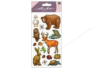 scrapbooking & paper crafts: EK Sticko Stickers Forest Animals