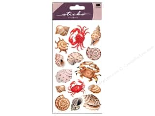 scrapbooking & paper crafts: EK Sticko Stickers Shells And Crabs