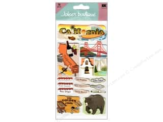 stickers: Jolee's Boutique Stickers Large California