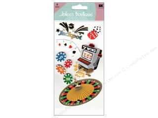 scrapbooking & paper crafts: Jolee's Boutique Stickers Large Casino