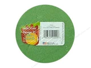 Floral & Garden: FloraCraft Desert Foam Arranger Disc 3 15/16 x 1 7/8 in. Green