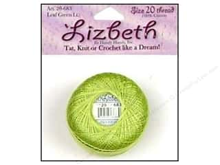 yarn & needlework: Lizbeth Thread Size 20  #683 Leaf Green Light