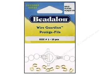 Beadalon Wire Guardian .022 in. Gold Plated 10 pc.