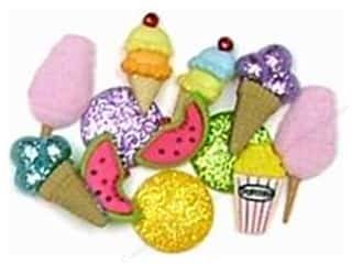 craft & hobbies: Jesse James Dress It Up Embellishments Snack Attack