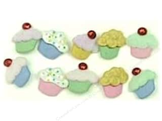 cover button: Jesse James Dress It Up Embellishments Button Mini Sweet Treats
