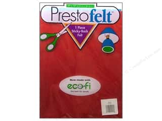 Kunin Presto Felt 9 x 12 in. Red