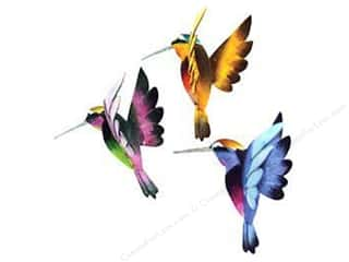 Midwest Design Artificial Birds 2 3/4 in. Flying Hummingbird Assorted 1 pc.