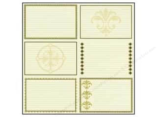 Canvas Bazzill: Bazzill 12 x 12 in. Paper Heritage Note Cards Horizontal 15 pc.