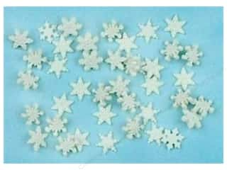 craft & hobbies: Jesse James Dress It Up Embellishments Itty Bitty Snowflakes