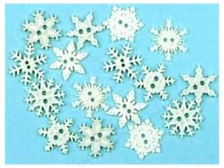 Jesse James Dress It Up Embellishments Sew Thru Snowflakes