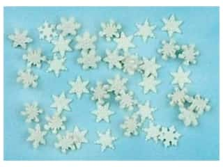 Jesse James Dress It Up Embellishments Itty Bitty Snowflakes