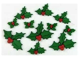 craft & hobbies: Jesse James Dress It Up Embellishments Holly Jolly Christmas