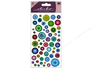stickers: EK Sticko Stickers Color Bubbles