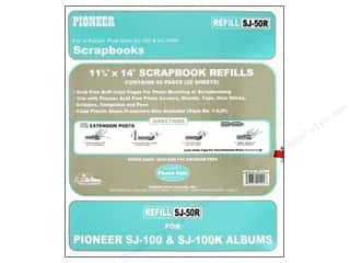 Pioneer Refill Page Scrapbook 11.75 in. x 14 in. Buff 25 pc