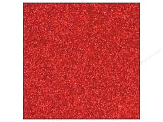 Red Paper: Best Creation 12 x 12 in. Cardstock Glitter Red (15 sheets)