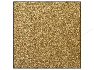 Best Creation 12 x 12 in. Cardstock Glitter Gold (15 sheets)